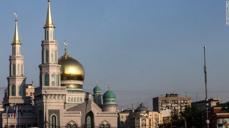 روس: یورپ کی بڑی مساجد میں سے ایک کا افتتاح