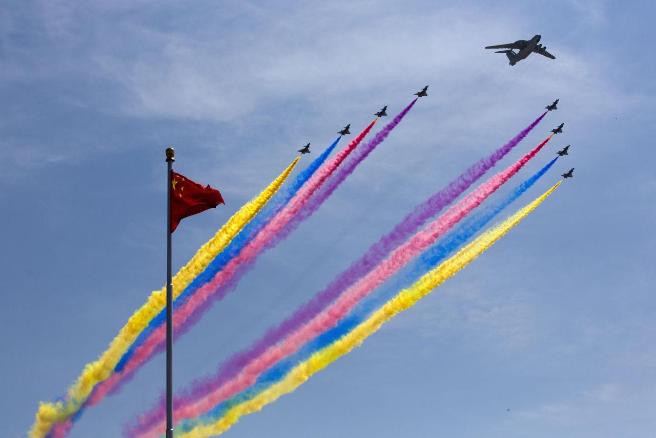 دوسری جنگ عظیم میں جاپان کی شکست، چین میں زبردست جشن