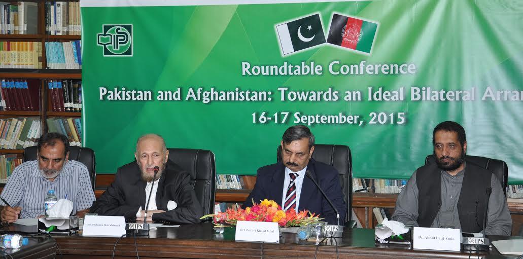 پاک افغان تعلقات پر سیمینار۔۔۔۔ اعتماد سازی کے لیے اقدامات پر زور
