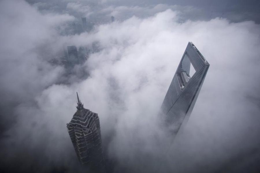 چین کے خوبصورت طائرانہ مناظر