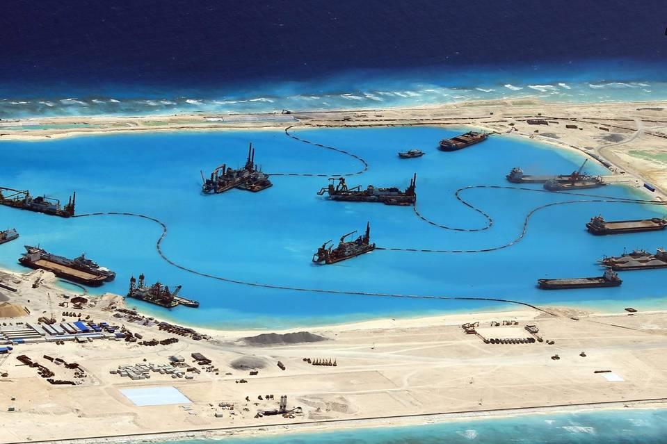 بحیرۂ جنوبی چین میں چینی تعمیرات کا تنازع شدت پکڑگیا