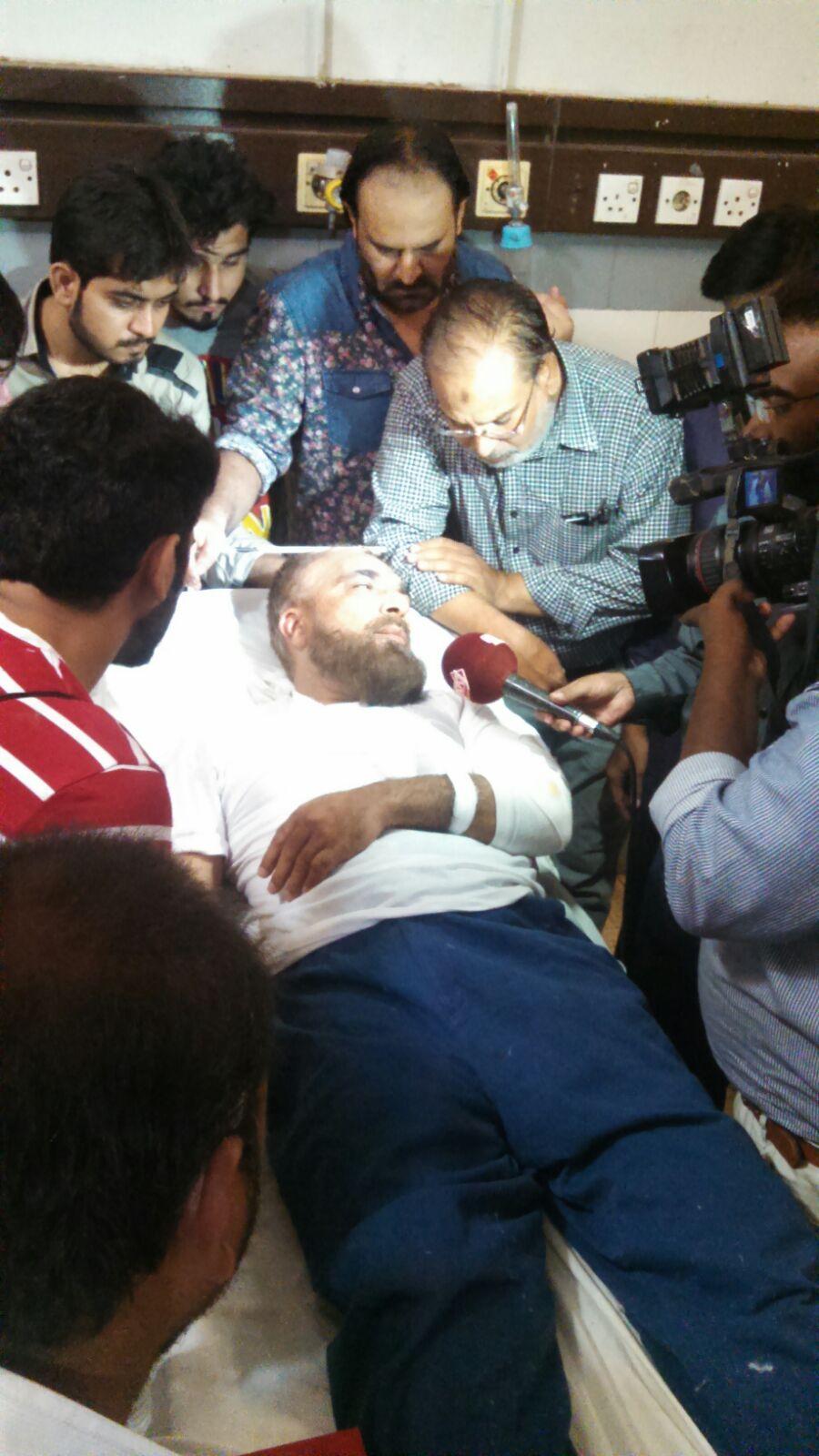 ادویہ کی تھوک فروش مارکیٹ کے صدر پر قاتلانہ حملہ