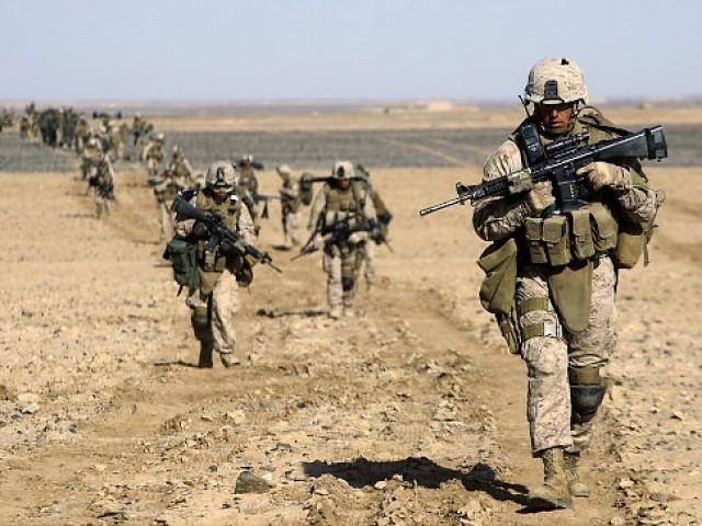 افغانستان میں امریکی فوج میں نصف کمی کا فیصلہ