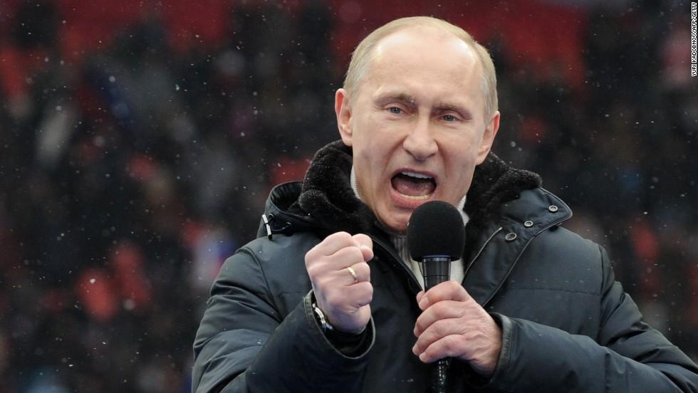 شام تنازع: امریکا کے دوغلے رویے پر روسی صدر کی کڑی تنقید