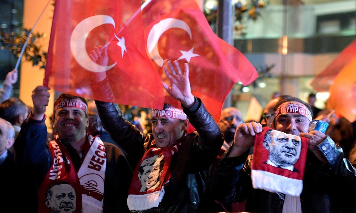 ترکی میں عدالت پارٹی کی شاندار کامیابی