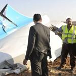 روس کا مسافر طیارہ مصر میں گر کر تباہ، 224 مسافر ہلاک