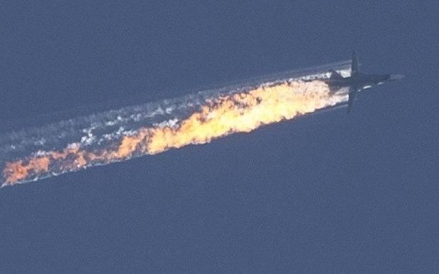 ترکی نے روس کا لڑاکا طیارہ مار گرایا
