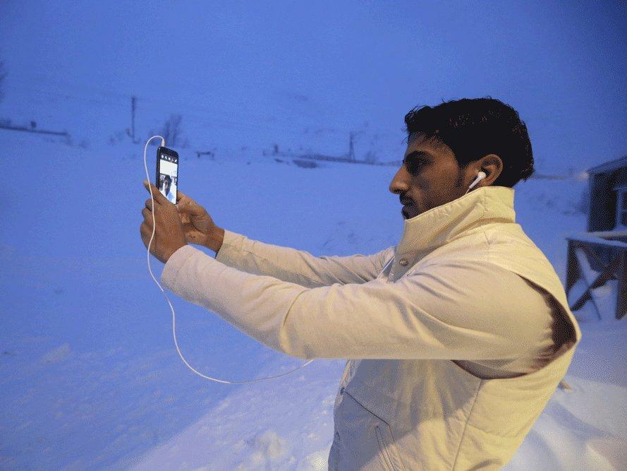 سوئیڈن نے شامی مہاجرین کو قطب شمالی بھیج دیا