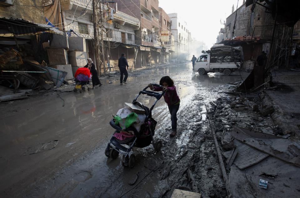 محصور شامی علاقے اور اقوام متحدہ کا تجاہل عارفانہ