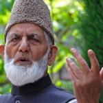 حریت کی موجودگی میں کبھی قیادت کا بحران پیدا نہیں ہوگا: سید علی گیلانی