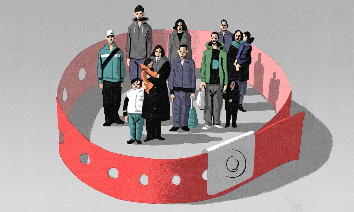 مہاجرین کے لیے سرخ پٹی، تاریخ خود کو دہراتی ہوئی
