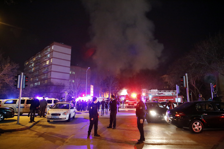 ترکی کے دارالحکومت انقرہ میں فوجی قافلے کے قریب دھماکا ، 28 افراد ہلاک