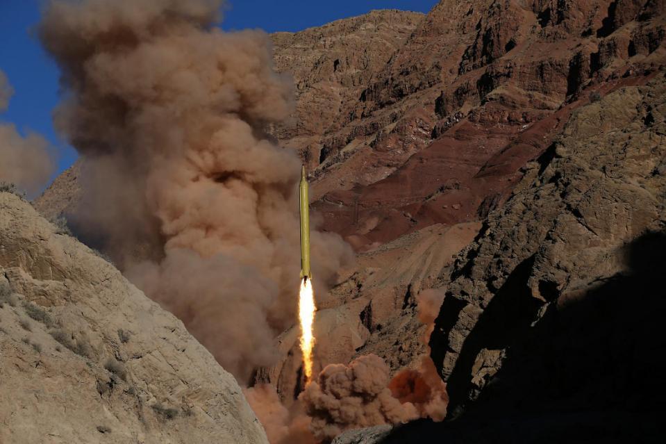 اسرائیل تک مار کرنے والے ایرانی میزائل کے تجربات، امریکا نالاں