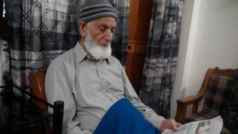 قائد تحریک حریت سید علی گیلانی کی حالت تسلی بخش