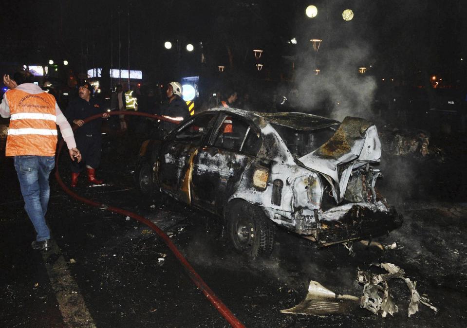 ترکی میں خودکش بم دھماکا، 34 افراد ہلاک، 125 زخمی