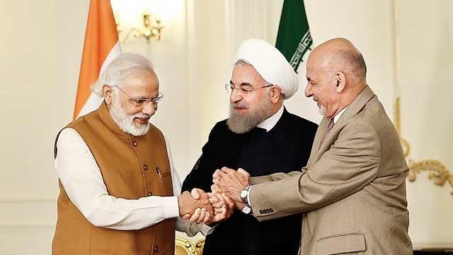 چاہ بہار بندرگارہ کی تعمیر پر بھارت ، ایران اور افغانستان کے درمیان معاہدہ، خطے میں کھینچا تانی کے کھیل کا حصہ