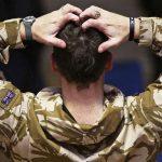 برطانوی افواج میں ذہنی امراض میں 80 فیصد اضافہ