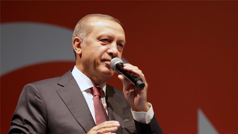 مغربی ممالک اپنے کام سے کام رکھیں، طیب اردوغان