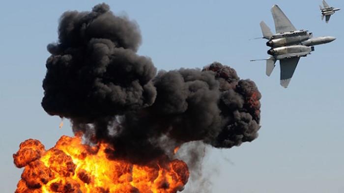 روس کے طیاروں کی شام میں امریکی خفیہ اڈے پر بمباری