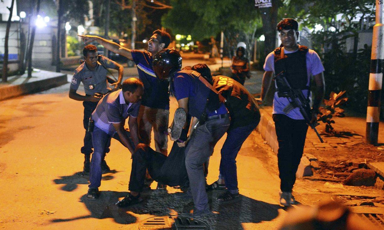 بنگلہ دیش کے دارالحکومت ڈھاکا کے سفارتی علاقے میں حملہ