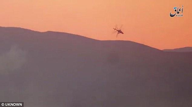 شام، داعش نے امریکی ہتھیار سے روسی ہیلی کاپٹر مار گرایا