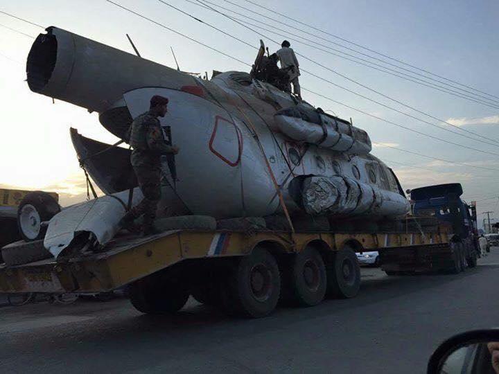 افغان طالبان نے پاکستانی ہیلی کاپٹر کا عملہ رہا کردیا، افغان حکومت غیر متعلق ثابت!