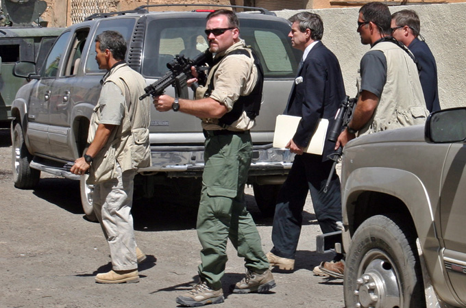 افغانستان میں امریکا کے پرائیوٹ فوجیوں کی تعداد 30 ہزار تک پہنچ گئی
