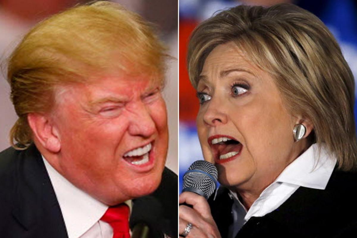 امریکہ کے صدارتی انتخابات: ہلیری کلنٹن اور ڈونالڈ ٹرمپ آمنے سامنے