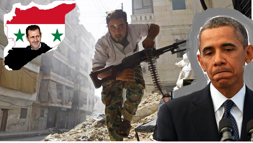 شام کا محاذ امریکا اور مغرب کے گلے کی ہڈی بن گیا