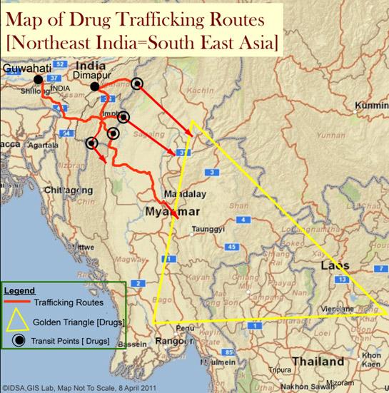 بھارت: منشیات کے بین الاقوامی دھندے کا گڑھ