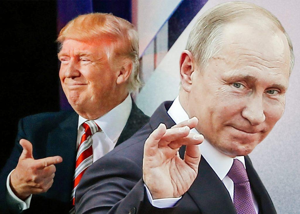 روس میں ٹرمپ کی کامیابی پر جشن