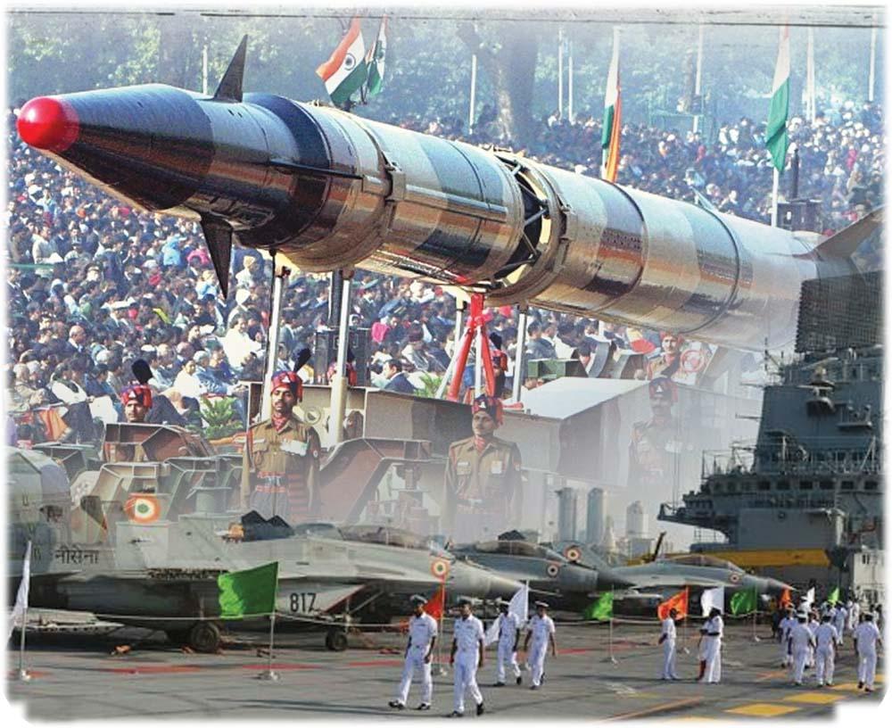 بھارت ہتھیاروں کے انبار، احساس کمتری کا شکار
