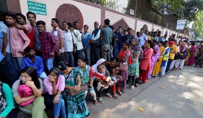 کرنسی پابندی تنازع بھارتی تاریخ کا بڑا گھپلا، حکومت ڈانواںڈول