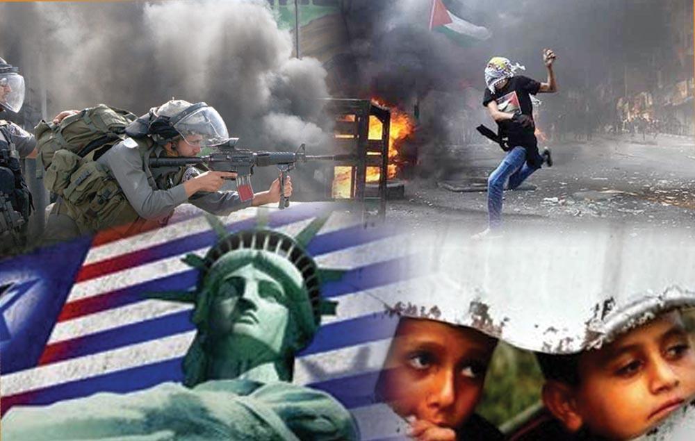 امریکی دستبرداری فلسطین کی پیٹھ میں خنجرکے مترادف