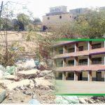 سراج الدّولہ کالج کچرے کے ڈھیرمیں تبدیل