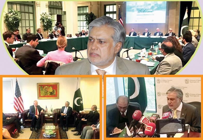 وزیر خزانہ کادورہ امریکا پاکستان کے لیے معاشی پیکج حاصل کرنے میں ناکامی