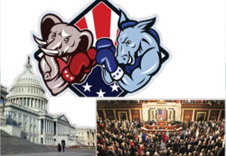 امریکی کانگریس میں ڈیموکریٹس اورری پبلیکنز آمنے سامنے
