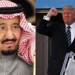 ٹرمپ کا سعودی عرب و مشرق وسطیٰ کا دورہ،اسلحہ بیچنے کا نیا حربہ