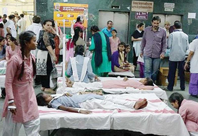 """دہلی میں مہلک گیس کے اخراج نے """"سانحہ بھوپال """"کی یاد تازہ کردی"""
