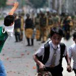 وادی میں بھارتی افواج کی سنگ دلی کشمیری بچوں کی مسکراہٹ ،بھول پن معدوم