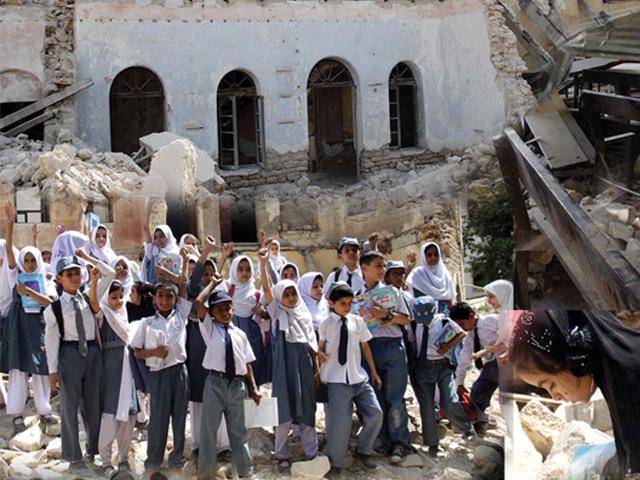 سولجر بازار کے سرکاری اسکول پر قبضہ ' وفاقی حکومت کا ملوث پولیس افسر کے خلاف کارروائی کا حکم
