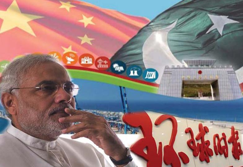 بھارت سی پیک کواتھل پتھل کرنے کی سازشوں میں مصروف !