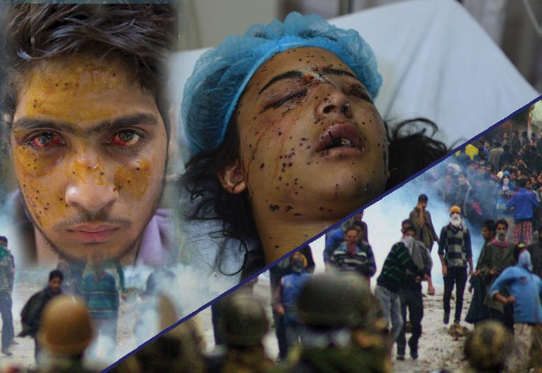 مقبوضہ کشمیر میں کیمیائی ہتھیاروں کا استعمال:ایمنسٹی انٹرنیشنل کی چشم کشا رپورٹ