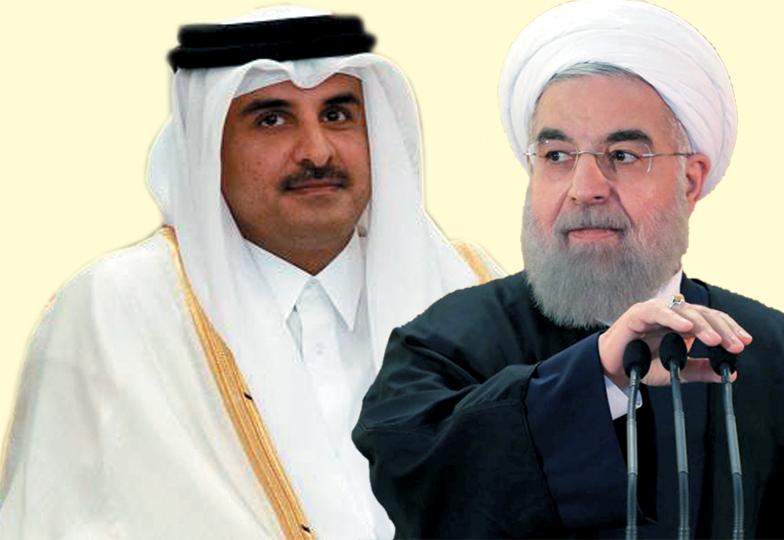 قطر ایران تعلقات کی بحالی پر سعودی عرب کی ناراضی ۔۔چہ معنی دارد