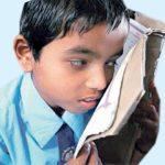 نابینا بچوں کے لیے مندر میں علم کی روشنی