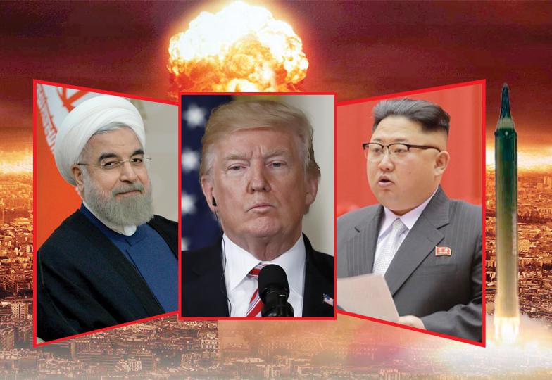 امریکا کے خلاف ایران اور شمالی کوریا کی جارحانہ حکمت عملی