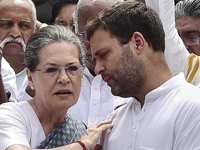 سونیا گاندھی نے کانگریس کی پارٹی صدارت بیٹے کے سپرد کردی