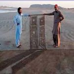 پسنی کے ساحل پر ریت سے تھری ڈی شاہکار