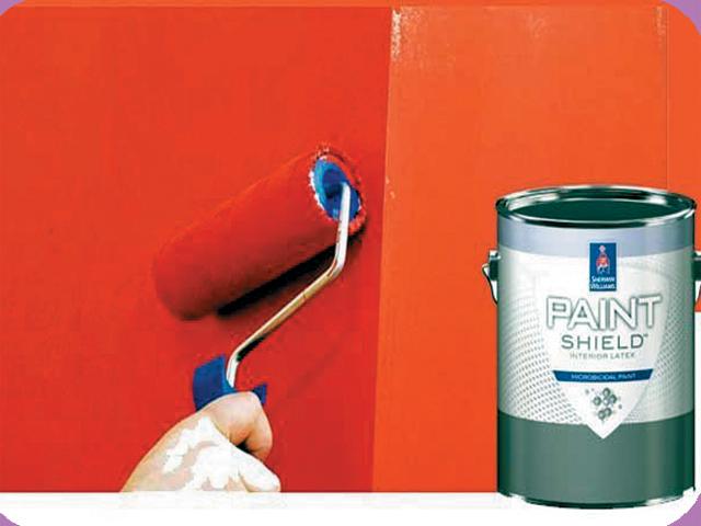 جراثیم کش پینٹ کرائیں اور مطمئن ہوجائیں