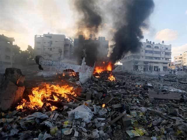 غزہ پرحملے، اسرائیل کو 40 گھنٹوں میں 33 ملین ڈالر کا نقصان
